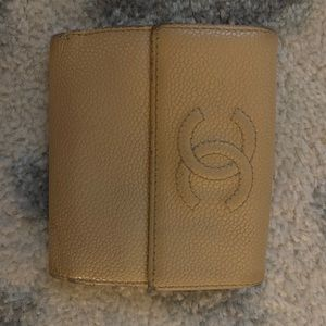 AUTHENTIC CHANEL CAVIAR TIMELESS WALLET